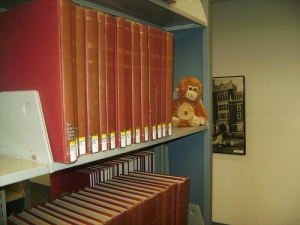 Monkey in the Stacks