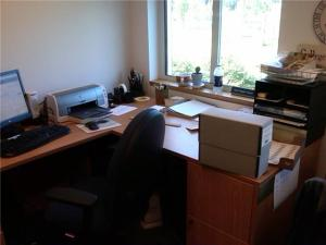 My Office in the Sister Mary Carmel McGarigle Archives